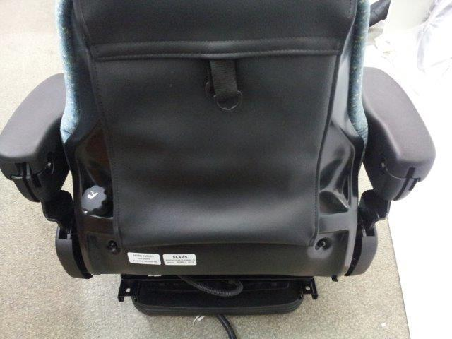 Sears Tractor Air Ride Seats : Sears air suspension seat swivel base tractor