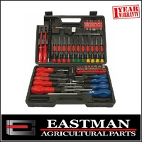 70 Piece Screwdriver And Bit Set In Carry Case - Great Set