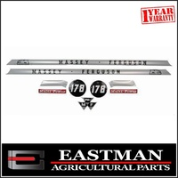 Decal Set to suit 178 Massey Ferguson