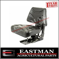 Mechanical Suspension Seat - Tractor - Black Non Wrap