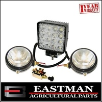 Tractor Light Kit to suit Ford Fordson Massey Ferguson TE20 Fergie Kubota Lamp Kit