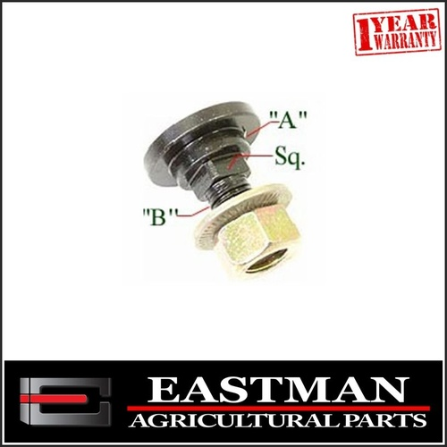Bolt & Nut to suit Taarup Hay Mower Blade
